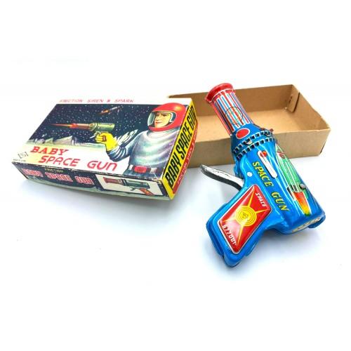 مسدس لعبة اطفال سبيس قن ياباني من بداية الستينات الميلادية
